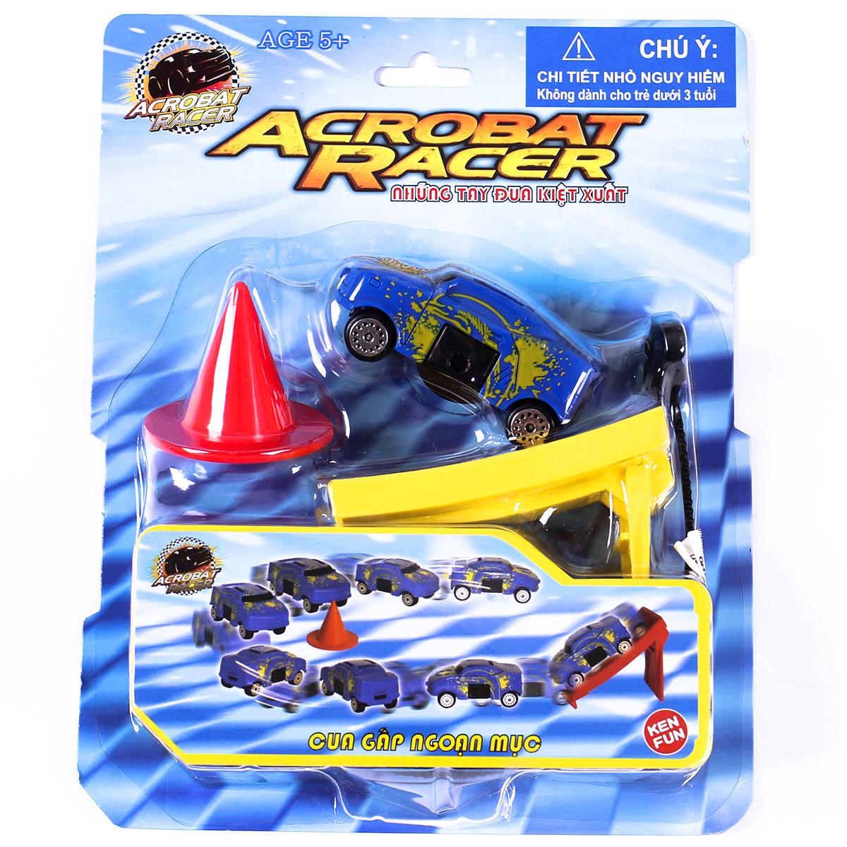 Xe do choi Acrobat Racer - Cua gap ngoan muc