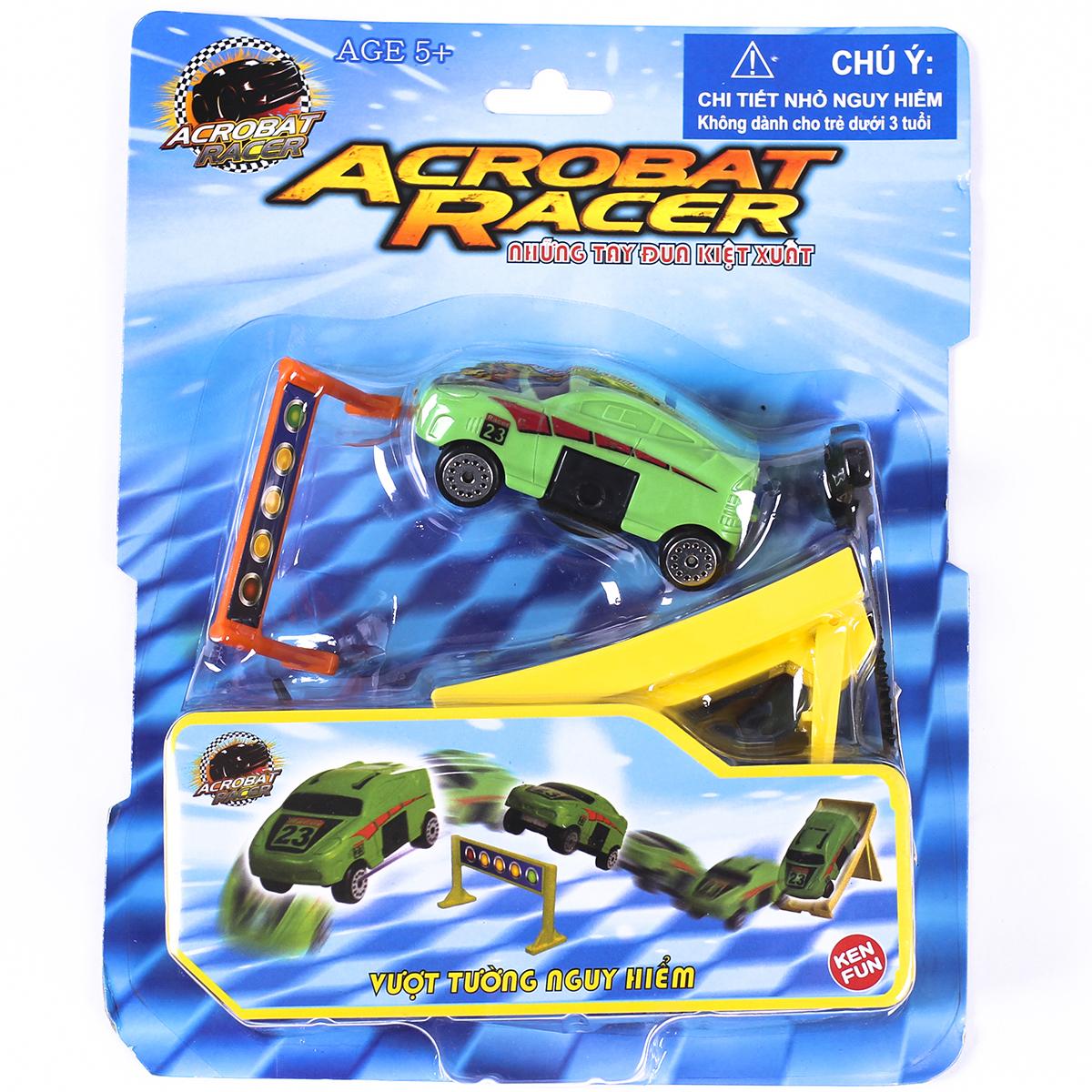 Xe do choi Acrobat Racer - Vuot tuong nguy hiem