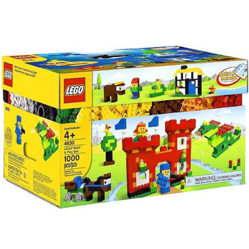 Do choi LEGO 4630 - Hop lap rap vui nhon