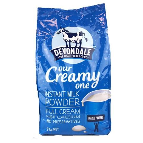 Sua tuoi dang bot nguyen kem Devondale