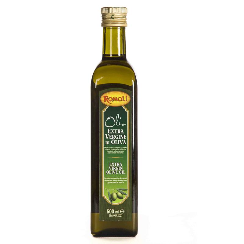 Dau Olive sieu nguyen chat Romoli 500ml