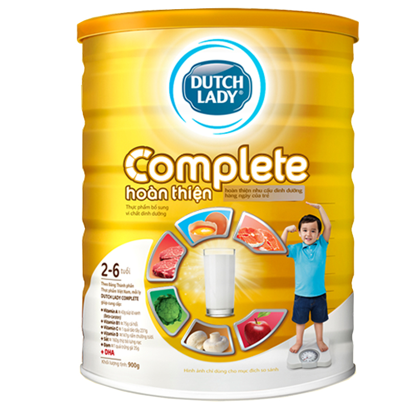 Sua bot Dutch Lady Complete (900g)