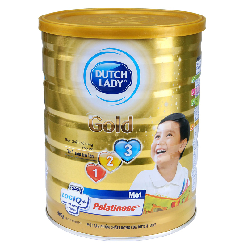 Sua Dutch Lady 123 gold (900g)