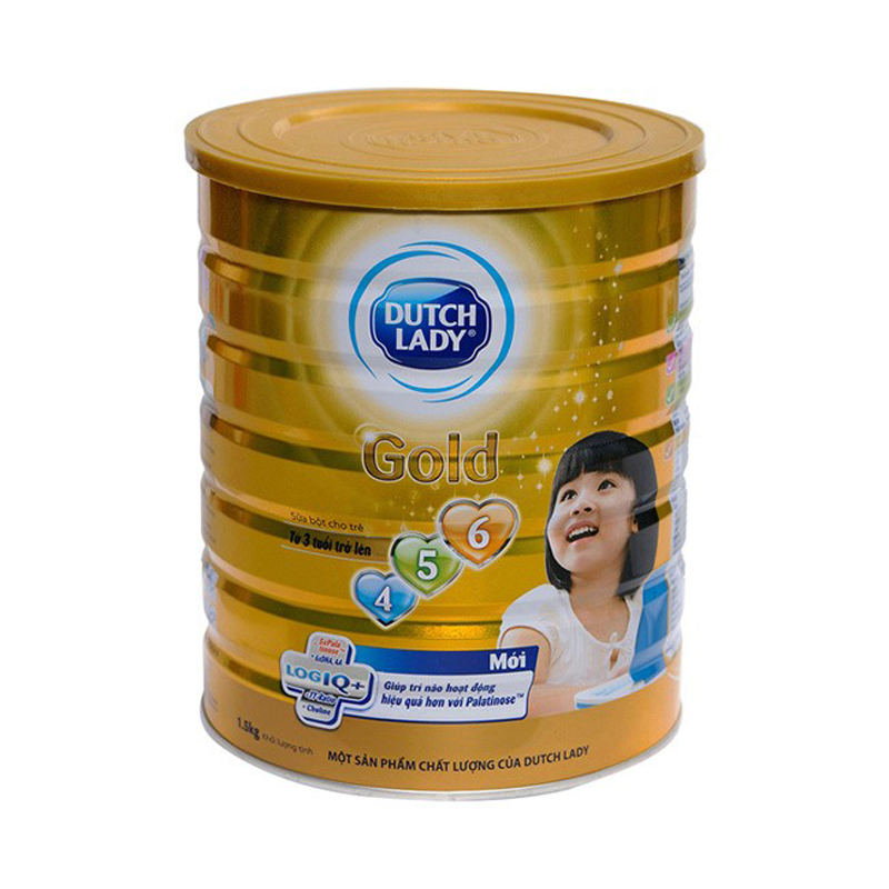 Sua Dutch Lady 456 gold loai 1.5kg