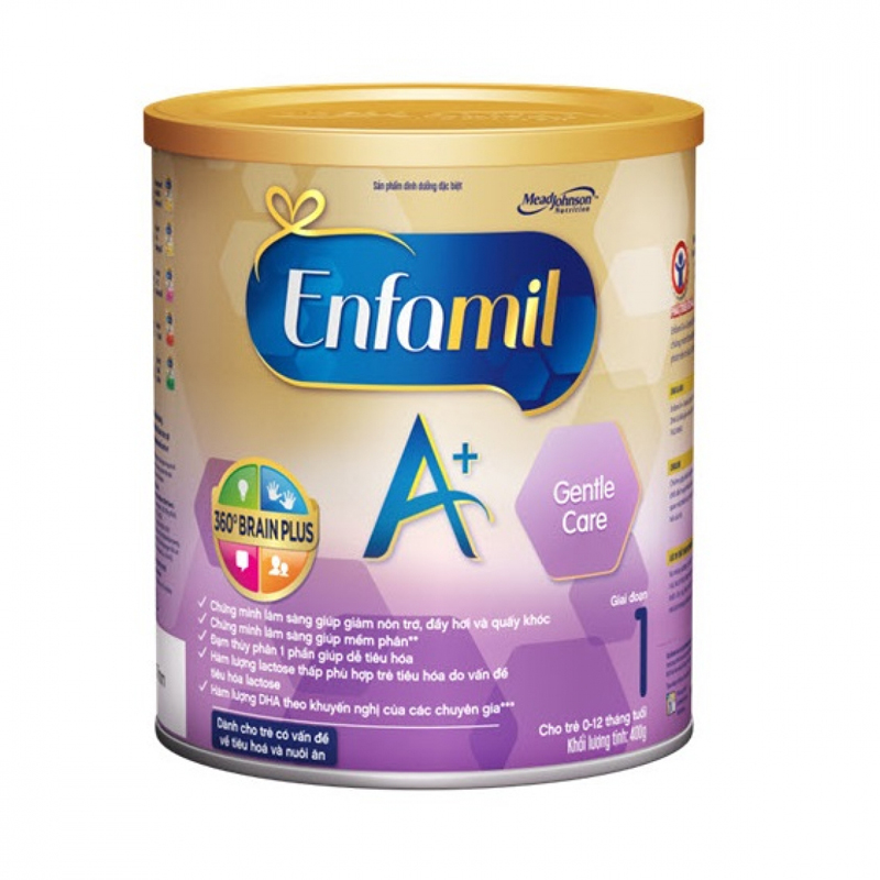 Sua Enfamil A+ Gentle care Brain Plus