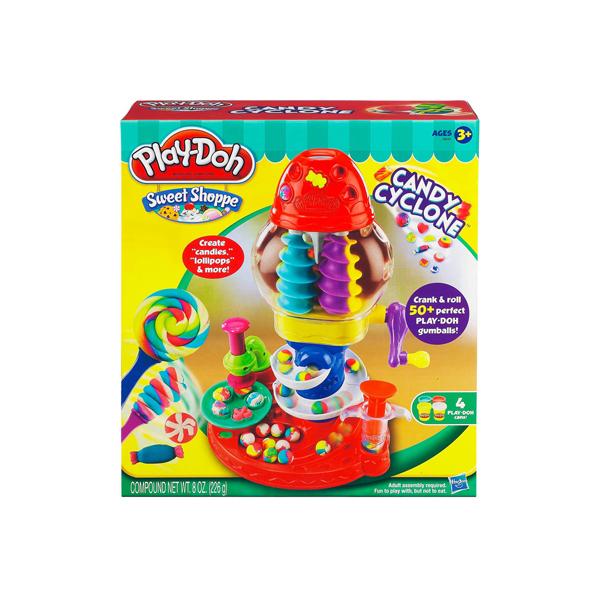 Dat nan Play-Doh Thap xoay keo ngot 39640