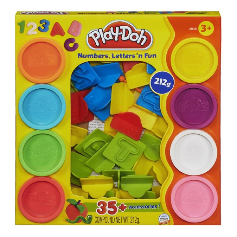 Dat nan Play-Doh Chu so vui nhon