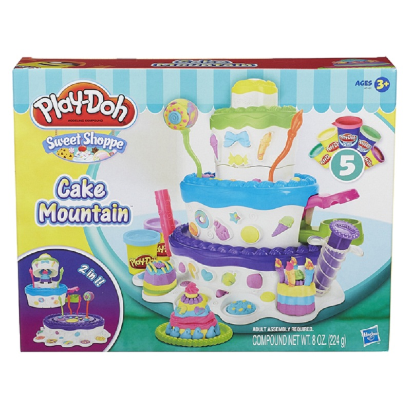 Dat nan Play-Doh Thap banh kem