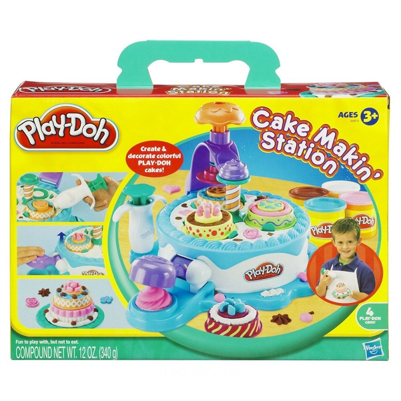 Do choi Play-Doh Banh kem khong lo