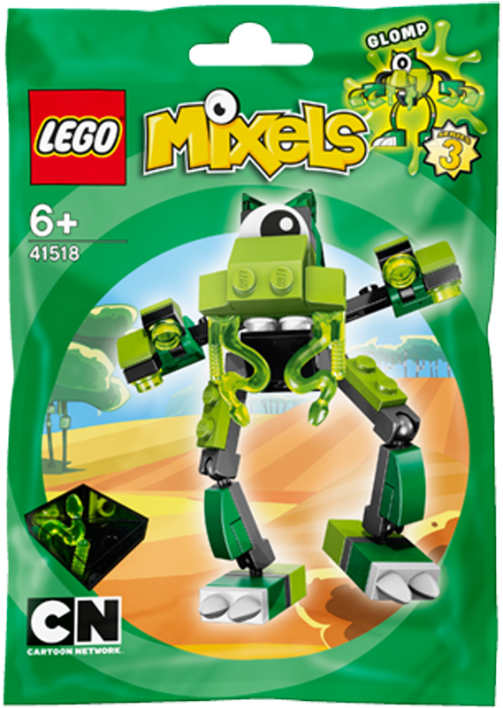 Mo hinh LEGO Mixels Sinh vat Glomp - 41518