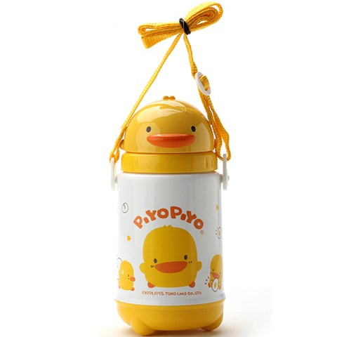Binh uong nuoc Piyo Piyo 830353 cho be 420ml