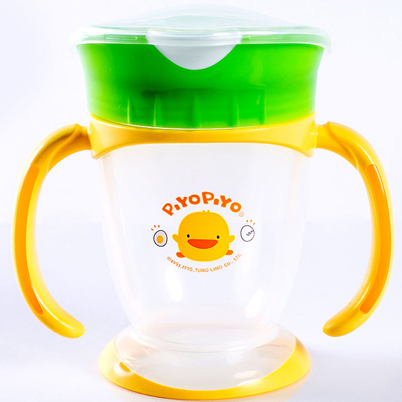Coc tap uong Piyo Piyo 830381 co tay cam BPA free