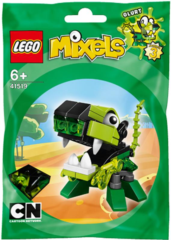 Mo hinh LEGO Mixels Sinh vat Glurt - 41519