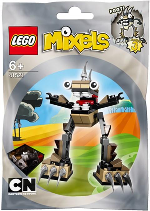 Mo hinh LEGO Mixels Sinh Vat Footi - 41521