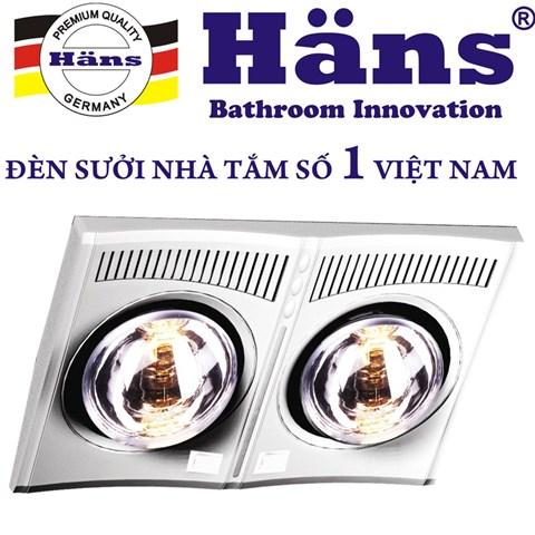 Den suoi nha tam Hans 2 bong