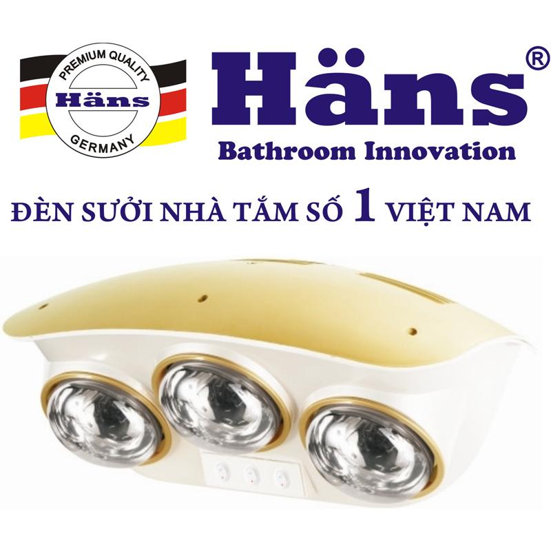 Den suoi nha tam Hans 3 bong
