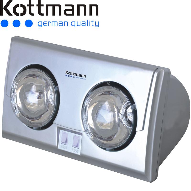 Den suoi treo tuong Kottmann bac 2 bong