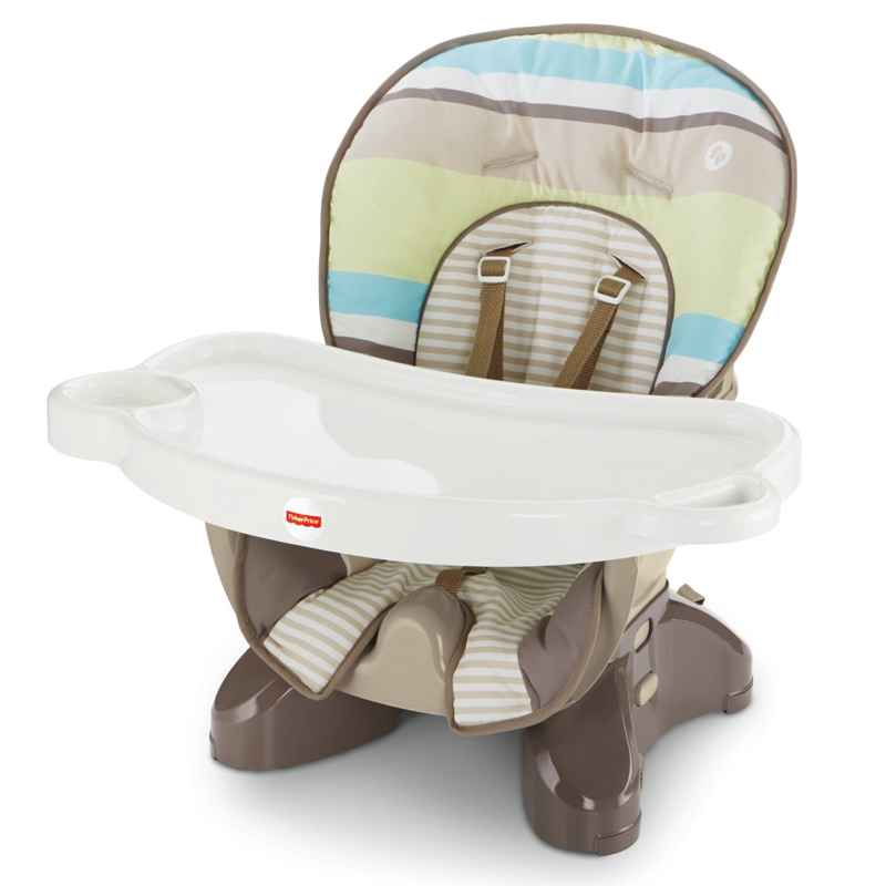 Ghe An Fisher Price Space Saver High Chair BLL26 Stripes
