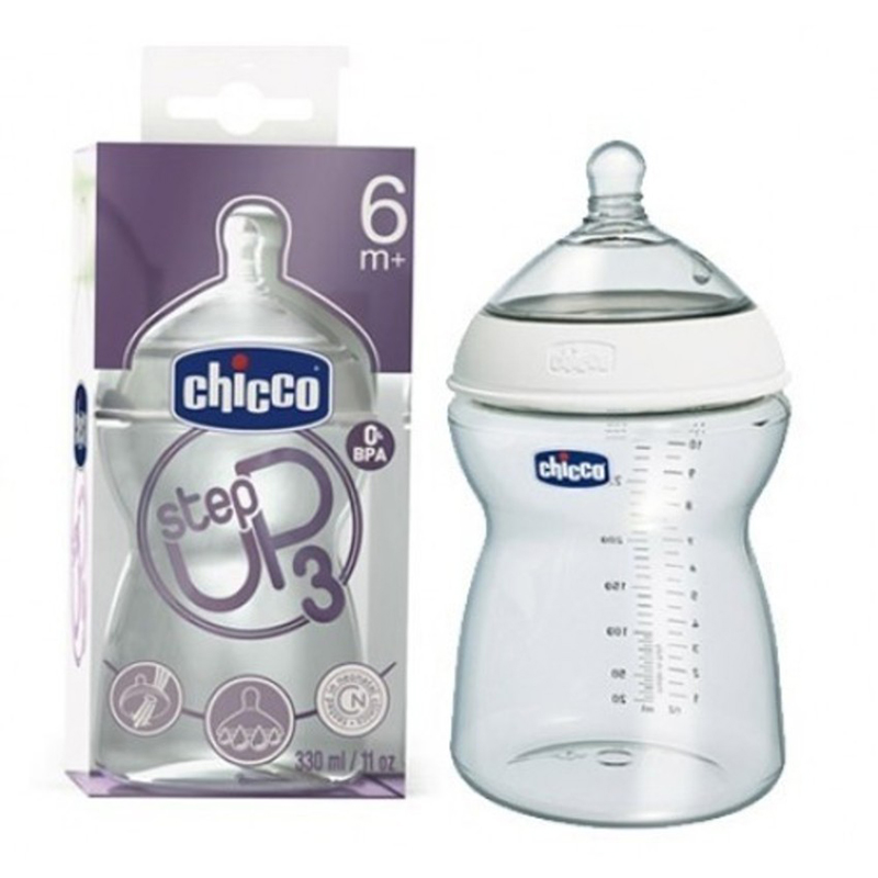 Binh sua Chicco Step Up 6M+ danh cho an dac 330ml