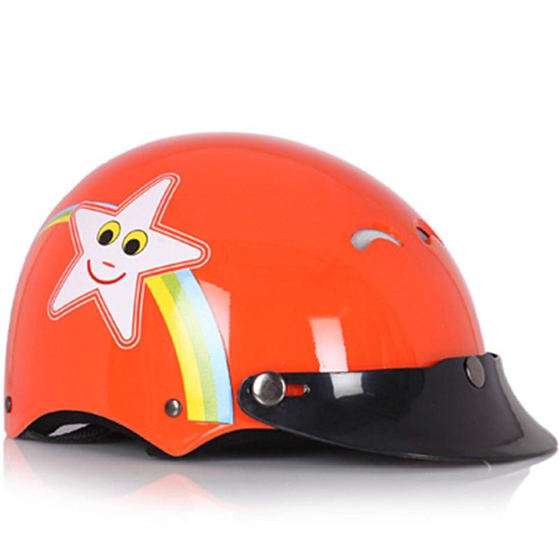 Mũ bảo hiểm Protec Kitty màu cam size S