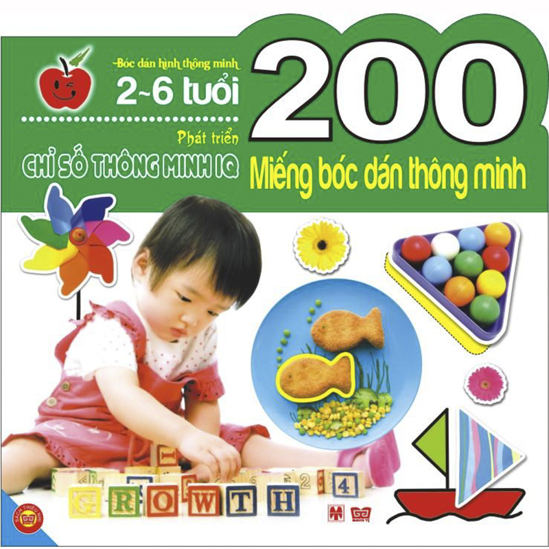200 mieng boc dan thong minh - Phat trien chi so IQ