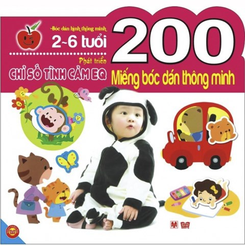 200 mieng boc dan thong minh - Phat trien chi so EQ