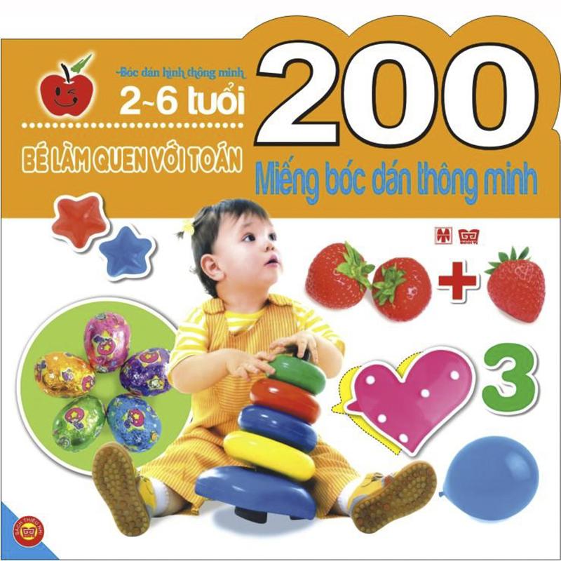200 mieng boc dan - Be lam quen voi Toan