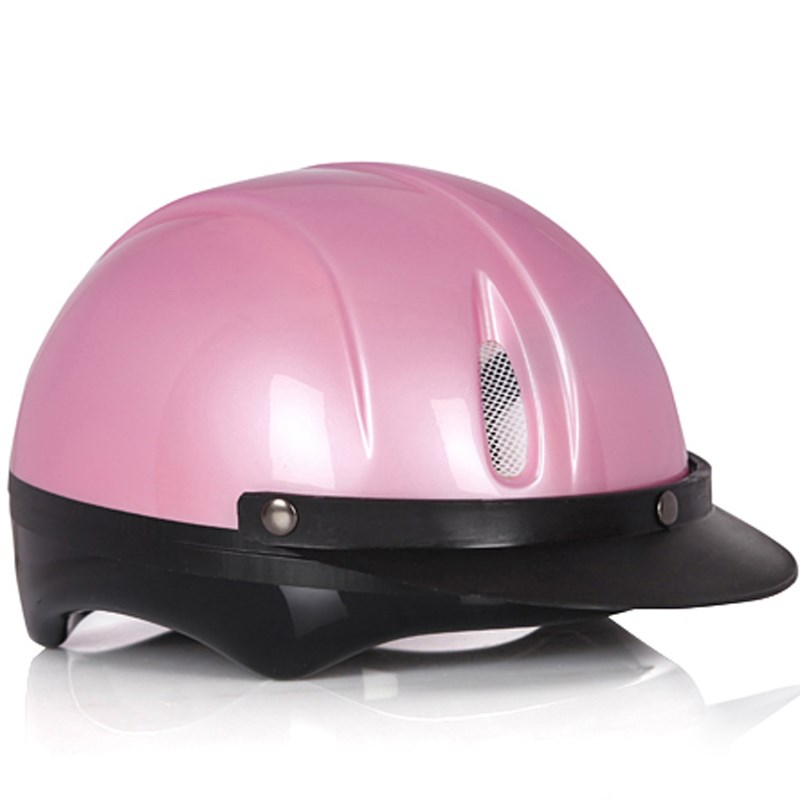 Mũ bảo hiểm Protec Saga màu hồng size S