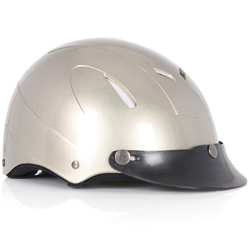 Mũ bảo hiểm Protec Disco màu bạc size L
