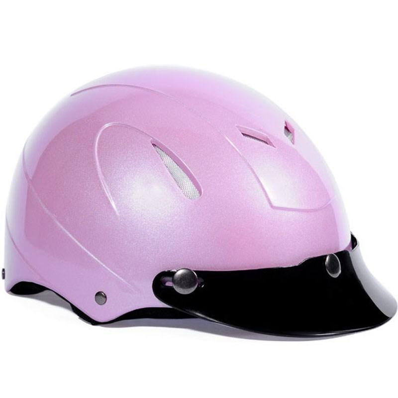 Mũ bảo hiểm Protec Disco màu hồng size L