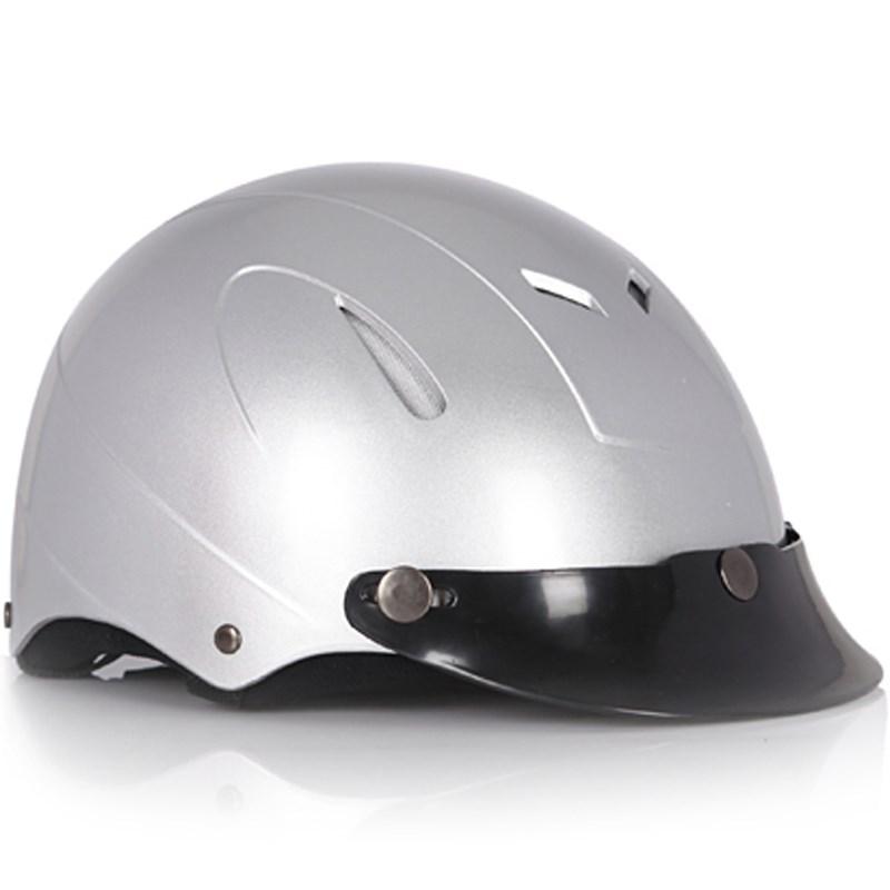 Mũ bảo hiểm Protec Disco màu xám size L