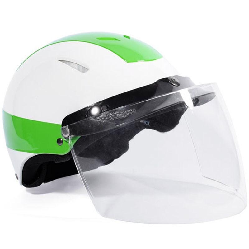 Mũ bảo hiểm Protec Disco màu xanh lá size L có kính