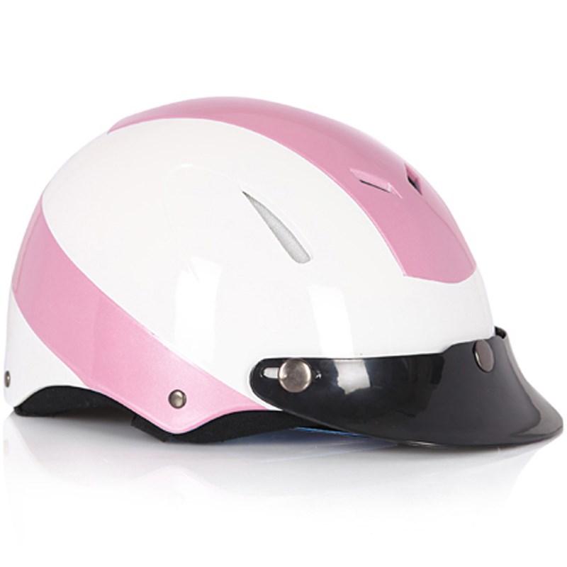 Mũ bảo hiểm Protec Disco size L màu hồng