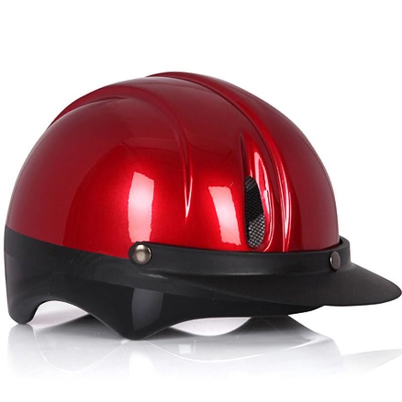 Mũ bảo hiểm Protec Saga màu đỏ size S