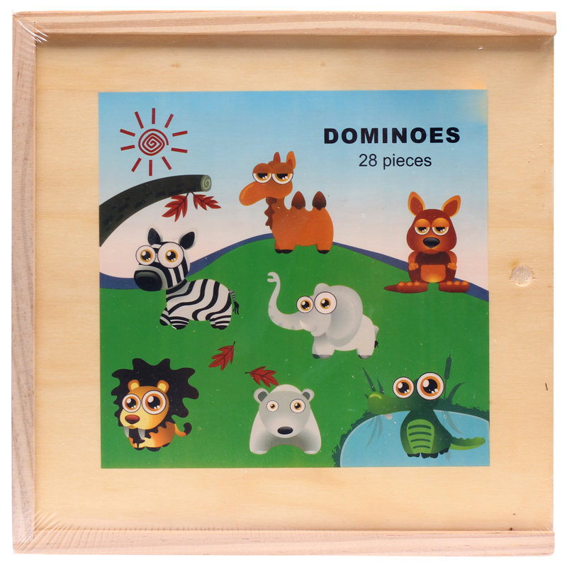 Do choi go hoat hinh - Domino thu rung 93856B
