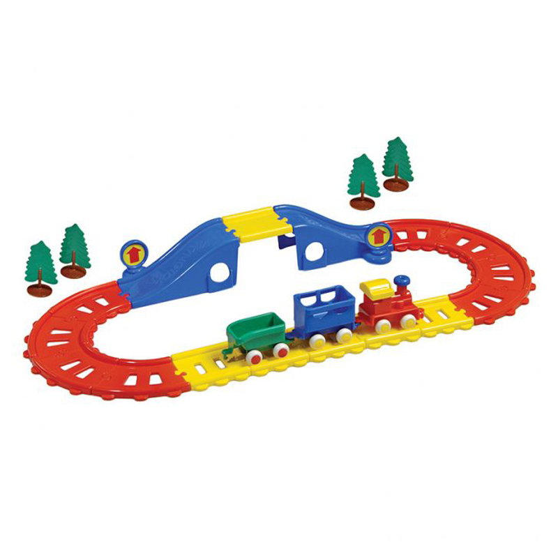 Do choi Viking Toys - He thong xe lua thanh pho