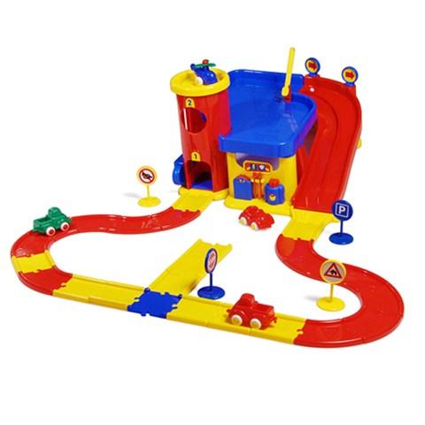 Do choi Viking Toys - Tram xe va he thong giao thong