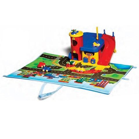 Do choi Viking Toys - Tram xe va ban do