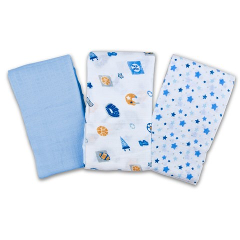 Khan quan Summer Muslin 3pk Boy
