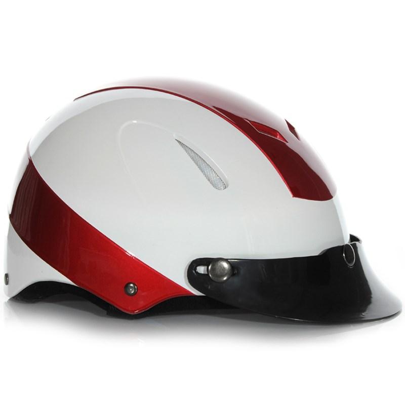 Mũ bảo hiểm Protec Disco size L màu đỏ