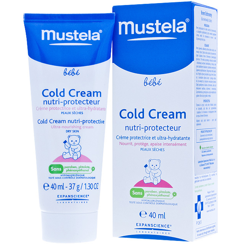 Kem chong ne cho be Mustela 40ml