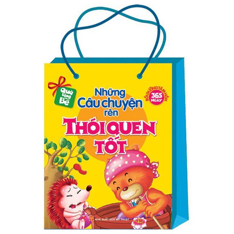 Bo sach nhung cau chuyen ren Thoi quen tot