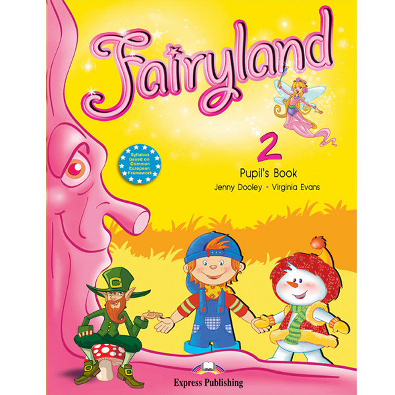 Bo 5 DVD Fairyland – English For Children Tieng Anh tieu hoc