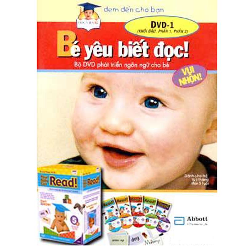Bo DVD be yeu biet doc Tieng Viet