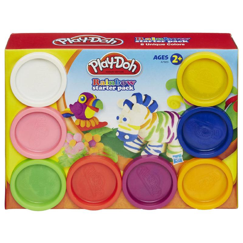 Bo bot nan 8 mau cau vong Play-Doh