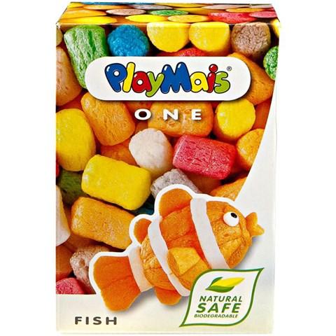 Hop ghep hinh Playmais PM0082 3D Nemo loai nho