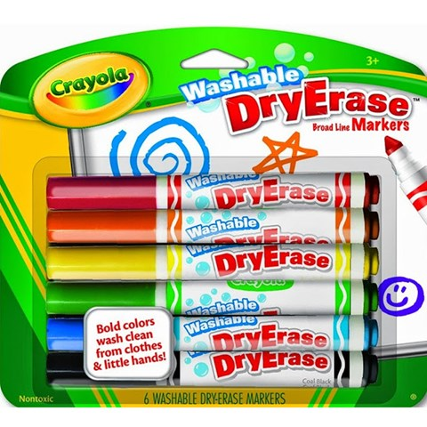 But long viet Crayola bang 6 mau