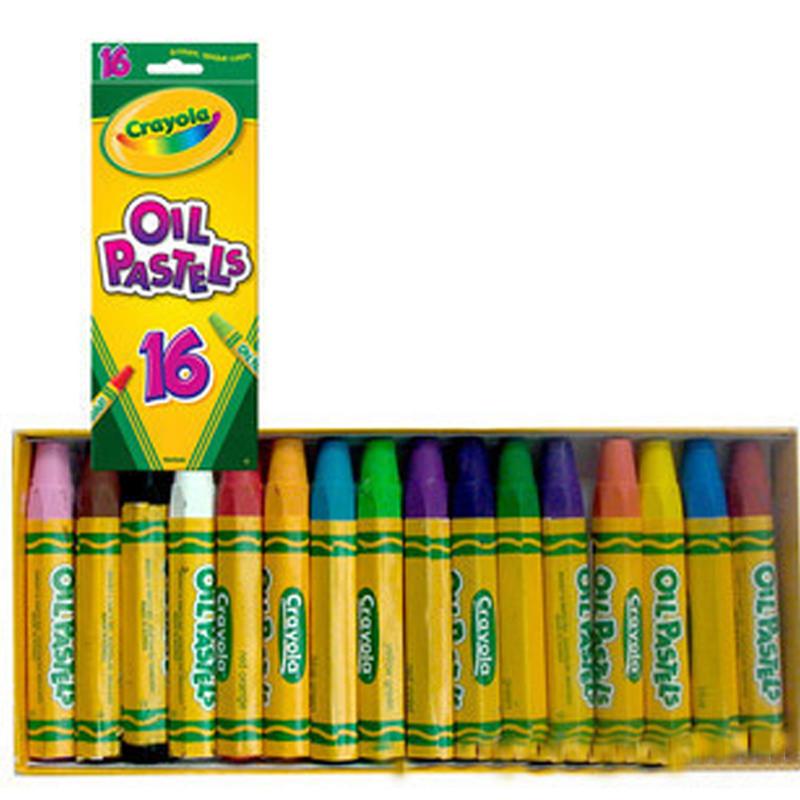 But sap dau Crayola 16 mau