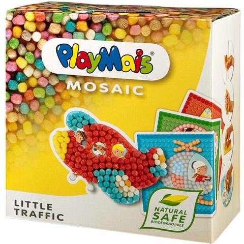 Hop ghep hinh Playmais PM0272 Mosaic o to & may bay
