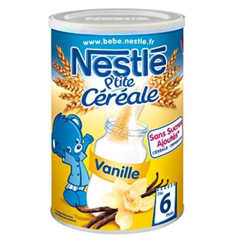 Bot pha sua Nestle vi Vanille 6m+ (400g)